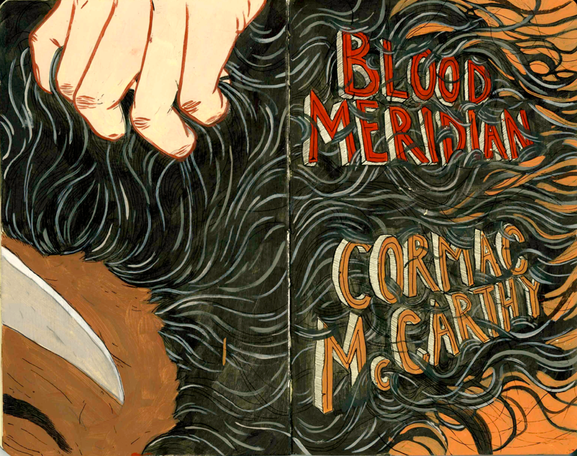Blood Meridian by Cormac McCarthy (1985 Hardcover, Very Good, 1st Mod.Lib.Edtn.)